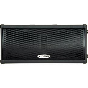 Kustom PA KPC210MP Dual 10 Powered Monitor Speaker ライブサウンド スピーカー