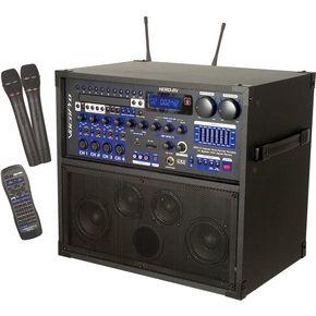 ヴォコプロ VocoPro HERO RV PA System Freq 213.74 185.80 ライブサウンド スピーカー