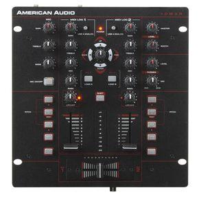 アメリカンオーディオ American Audio 10MXR 2-Channel MIDILOG DJ Mixer ライブサウンド スピーカー ミキサー