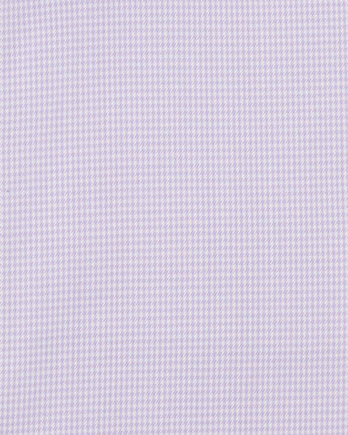 Micro-Graph Check Dress Shirt, Lavender