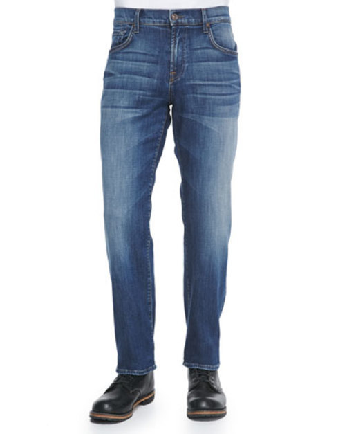 Luxe Performance: Skydiver Carsen Jeans