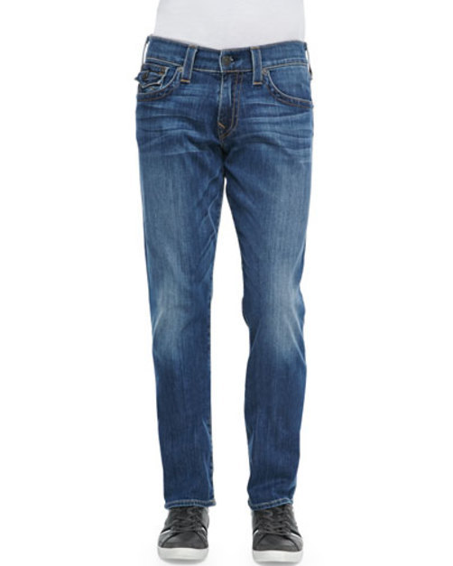Ricky Lakeview Denim Straight-Leg Jeans