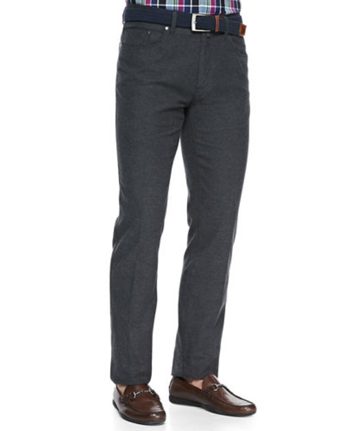 <title>Twill Five-Pocket Trousers Charcoal 2020</title>