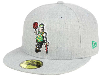 ニューエラ キャップ New Era Boston Celtics NBA All Heather 59FIFTY Cap Heather Gray Heather Gray ベースボールキャップ 帽子 野球帽
