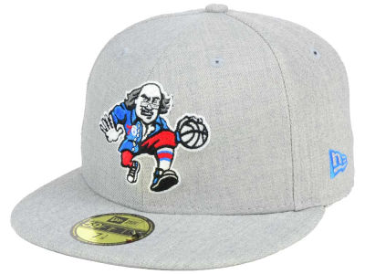ニューエラ キャップ New Era Philadelphia 76ers NBA All Heather 59FIFTY Cap Heather Gray Heather Gray ベースボールキャップ 帽子 野球帽