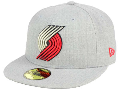 ニューエラ キャップ New Era Portland Trail Blazers NBA All Heather 59FIFTY Cap Heather Gray Heather Gray ベースボールキャップ 帽子 野球帽