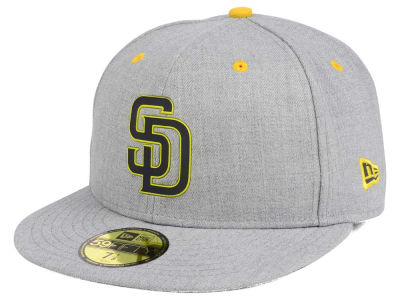 ニューエラ キャップ New Era San Diego Padres MLB Dual Flect 59FIFTY Cap Heather Gray Reflective Silver Heather Gray Reflective Silver ベースボールキャップ 帽子 野球帽