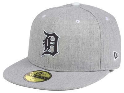 ニューエラ キャップ New Era Detroit Tigers MLB Dual Flect 59FIFTY Cap Heather Gray Reflective Silver Heather Gray Reflective Silver ベースボールキャップ 帽子 野球帽