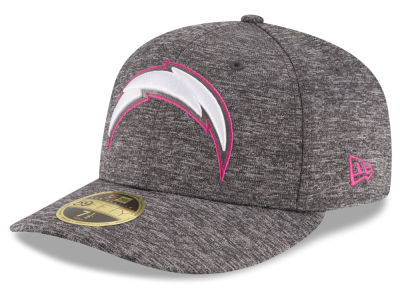 ニューエラ キャップ New Era San Diego Chargers NFL Breast Cancer Awareness Low Profile 59FIFTY Cap Gray グレー ベースボールキャップ 帽子 野球帽