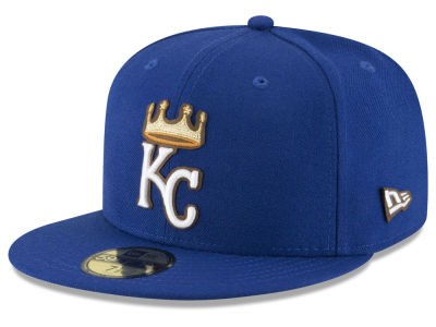ニューエラ キャップ New Era Kansas City Royals MLB Classic Leather Outline 59FIFTY Cap RoyalBlue RoyalBlue RoyalBlue RoyalBlue ベースボールキャップ 帽子 野球帽