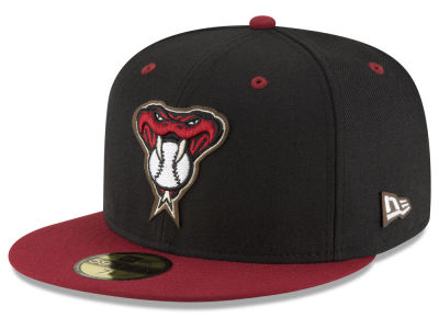 ニューエラ キャップ New Era Arizona Diamondbacks MLB Classic Leather Outline 59FIFTY Cap Cardinal Red Cardinal Red ベースボールキャップ 帽子 野球帽