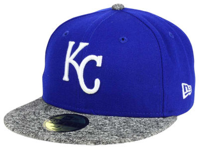 ニューエラ キャップ New Era Kansas City Royals MLB Team Frenchie 59FIFTY Cap Heather Charcoal Heather Charcoal ベースボールキャップ 帽子 野球帽