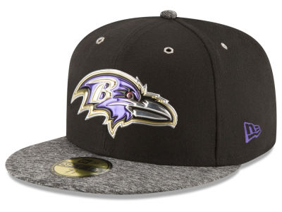 ニューエラ キャップ New Era Baltimore Ravens 2016 NFL Draft On Stage 59FIFTY Cap Black Heather Gray ブラック Heather Gray ベースボールキャップ 帽子 野球帽