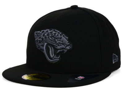 New era NFL Jacksonville Jaguars Black White 59fifty Fitted Cap Limited Edition