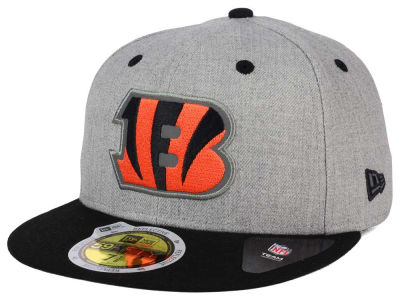 ニューエラ キャップ New Era メンズ Cincinnati Bengals NFL Total Reflective 59FIFTY Cap Heather Gray Black Reflective Silver Heather Gray ブラック Reflective Silver ベースボールキャップ キャップ 野球帽