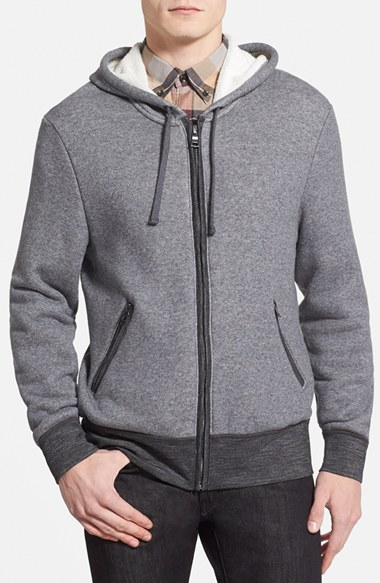 7 For All Mankind Zip Up Hoodie 男性 メンズ セーター ニット