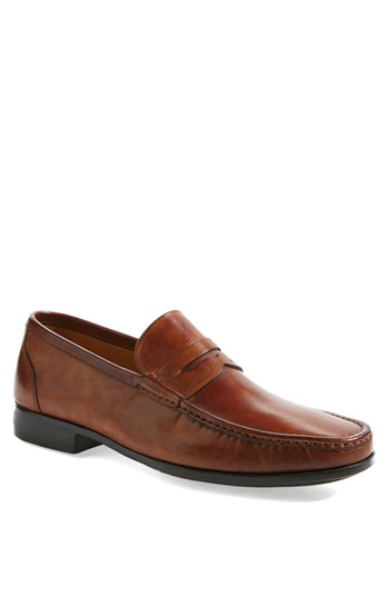Magnanni 'Ares' Penny Loafer (Men) 男性 メンズ シューズ 靴 革靴