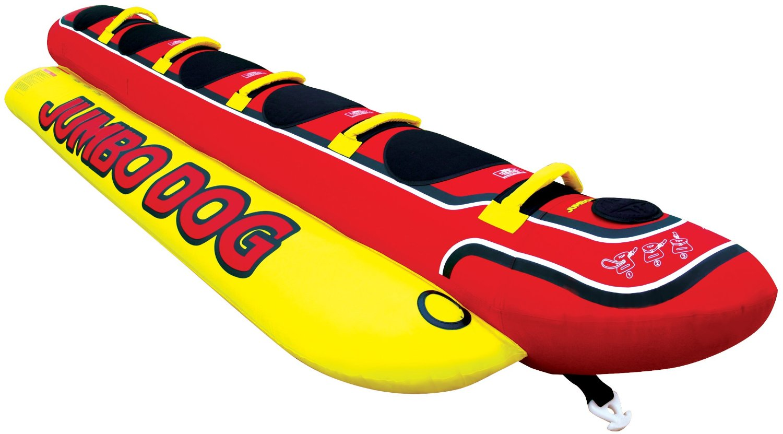 夏の定番アイテム 海へ遊びに来たならコレ 5人乗り バナナボート JUMBODOG ジャンボドッグ トーイングチューブ 海 マリンレジャー マリンスポーツ ジェットスキー
