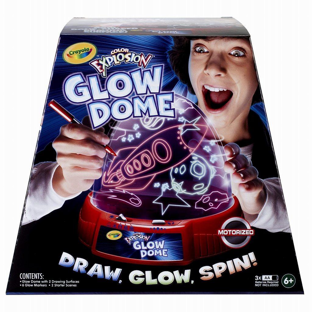 Crayola クレオラ 自分が書いた絵が光って動く! グロードーム 誕生日 誕生日プレゼント