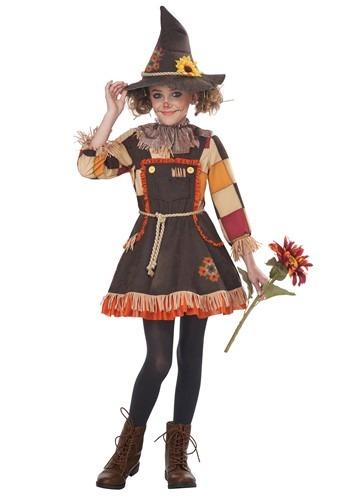 Girls Patchwork かかし コスチューム クリスマス ハロウィン 子ども コスプレ 衣装 仮装 こども イベント 子ども パーティ ハロウィーン 学芸会
