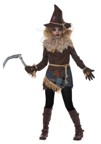 【ポイント最大29倍●お買い物マラソン限定!エントリー】Creepy かかし 女の子 コスチューム ハロウィン 子ども コスプレ 衣装 仮装 こども イベント 子ども パーティ ハロウィーン 学芸会