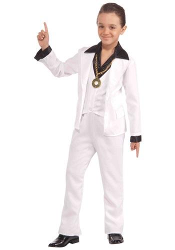 1970年代 ディスコ Fever 男の子s コスチューム クリスマス ハロウィン 子ども コスプレ 衣装 仮装 こども イベント 子ども パーティ ハロウィーン 学芸会
