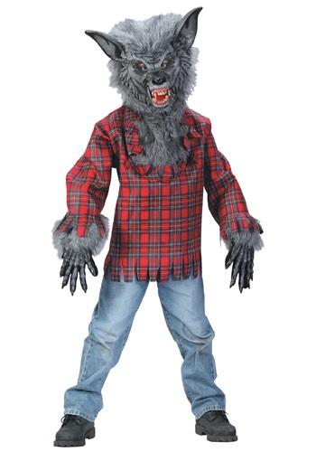 【ポイント最大29倍●お買い物マラソン限定!エントリー】キッズ Grey Werewolf コスチューム ハロウィン 子ども コスプレ 衣装 仮装 こども イベント 子ども パーティ ハロウィーン 学芸会
