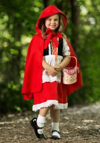 【ポイント最大29倍●お買い物マラソン限定!エントリー】Girls デラックス Little Red Riding Hood コスチューム ハロウィン 子ども コスプレ 衣装 仮装 こども イベント 子ども パーティ ハロウィーン 学芸会