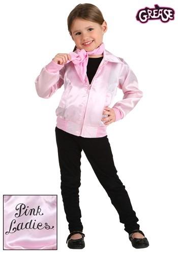 Grease ピンク Ladies Jacket 幼児 コスチューム クリスマス ハロウィン 子ども コスプレ 衣装 仮装 こども イベント 子ども パーティ ハロウィーン 学芸会