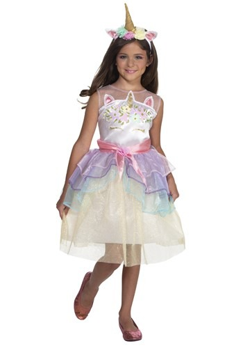 Dashing Unicorn Dress コスチューム For キッズ クリスマス ハロウィン 子ども コスプレ 衣装 仮装 こども イベント 子ども パーティ ハロウィーン 学芸会