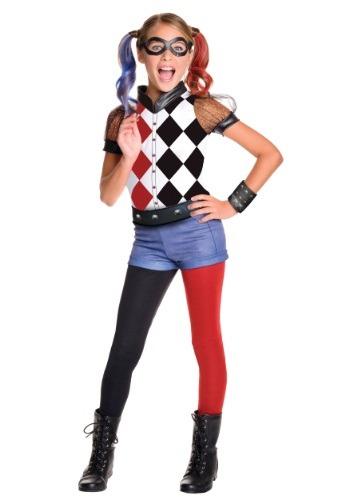 【ポイント最大29倍●お買い物マラソン限定!エントリー】DC Superhero 女の子 デラックス Harley Quinn コスチューム ハロウィン 子ども コスプレ 衣装 仮装 こども イベント 子ども パーティ ハロウィーン 学芸会