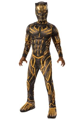 【ポイント最大29倍●お買い物マラソン限定!エントリー】ブラック Panther Erik Killmonger Battle Suit デラックス チャイルド コスチューム ハロウィン 子ども コスプレ 衣装 仮装 こども イベント 子ども パーティ ハロウィーン 学芸会
