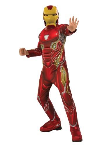 【ポイント最大29倍●お買い物マラソン限定!エントリー】マーベル Infinity War デラックス Iron Man コスチューム for チャイルドren ハロウィン 子ども コスプレ 衣装 仮装 こども イベント 子ども パーティ ハロウィーン 学芸会