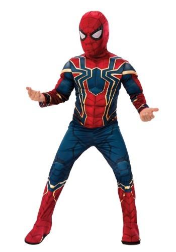 【ポイント最大29倍●お買い物マラソン限定!エントリー】マーベル Infinity War デラックス Iron Spider キッズ コスチューム ハロウィン 子ども コスプレ 衣装 仮装 こども イベント 子ども パーティ ハロウィーン 学芸会