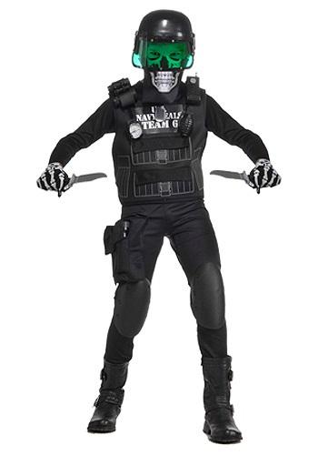 チャイルド Navy Seal ブラック Team 6 コスチューム クリスマス ハロウィン 子ども コスプレ 衣装 仮装 こども イベント 子ども パーティ ハロウィーン 学芸会