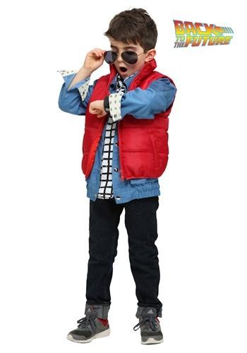 【ポイント最大29倍●お買い物マラソン限定!エントリー】Back to the Future Marty McFly 幼児 コスチューム ハロウィン 子ども コスプレ 衣装 仮装 こども イベント 子ども パーティ ハロウィーン 学芸会