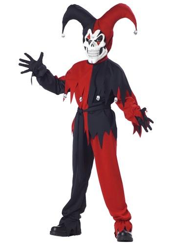 キッズ 邪悪な Jester コスチューム クリスマス ハロウィン 子ども コスプレ 衣装 仮装 こども イベント 子ども パーティ ハロウィーン 学芸会