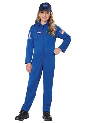 NASA キッズ Blue Jumpsuit コスチューム クリスマス ハロウィン 子ども コスプレ 衣装 仮装 こども イベント 子ども パーティ ハロウィーン 学芸会