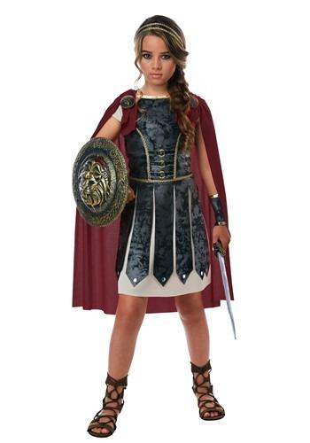 【ポイント最大29倍●お買い物マラソン限定!エントリー】Girls Fearless Gladiator コスチューム ハロウィン 子ども コスプレ 衣装 仮装 こども イベント 子ども パーティ ハロウィーン 学芸会
