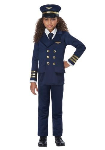 Airline Pilot キッズ コスチューム クリスマス ハロウィン 子ども コスプレ 衣装 仮装 こども イベント 子ども パーティ ハロウィーン 学芸会
