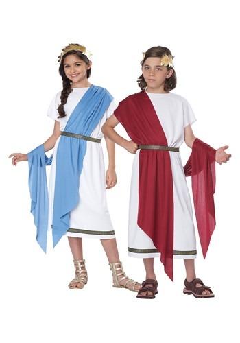 キッズ Grecian Toga コスチューム クリスマス ハロウィン 子ども コスプレ 衣装 仮装 こども イベント 子ども パーティ ハロウィーン 学芸会