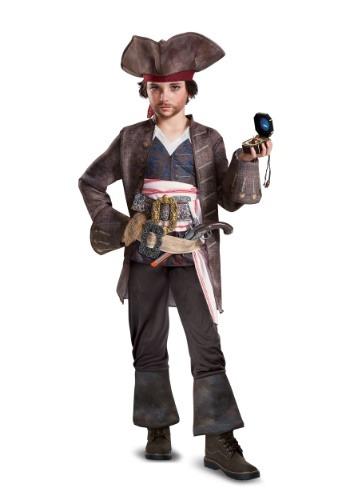 【ポイント最大29倍●お買い物マラソン限定!エントリー】デラックス Captain Jack Sparrow 男の子s コスチューム ハロウィン 子ども コスプレ 衣装 仮装 こども イベント 子ども パーティ ハロウィーン 学芸会