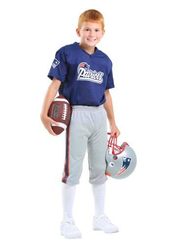 【ポイント最大29倍●お買い物マラソン限定!エントリー】キッズ NFL Patriots Uniform コスチューム ハロウィン 子ども コスプレ 衣装 仮装 こども イベント 子ども パーティ ハロウィーン 学芸会