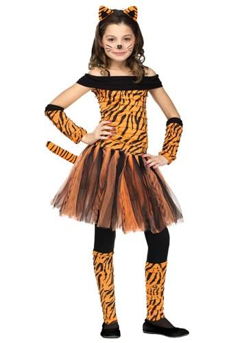 【ポイント最大29倍●お買い物マラソン限定!エントリー】Girls Tigress コスチューム ハロウィン 子ども コスプレ 衣装 仮装 こども イベント 子ども パーティ ハロウィーン 学芸会