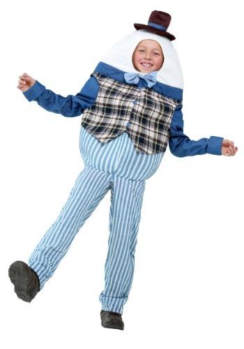 【ポイント最大29倍●お買い物マラソン限定!エントリー】Classic Humpty Dumpty キッズ コスチューム ハロウィン 子ども コスプレ 衣装 仮装 こども イベント 子ども パーティ ハロウィーン 学芸会