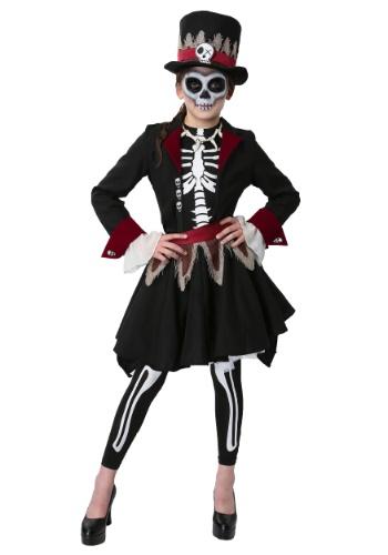 【ポイント最大29倍●お買い物マラソン限定!エントリー】ガールズ Voodoo Skeleton コスチューム ハロウィン 子ども コスプレ 衣装 仮装 こども イベント 子ども パーティ ハロウィーン 学芸会