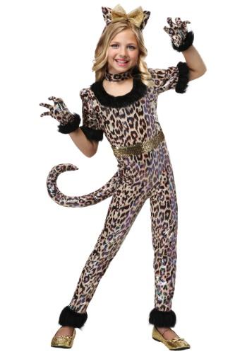 ガールズ Leopard Jumpsuit コスチューム クリスマス ハロウィン 子ども コスプレ 衣装 仮装 こども イベント 子ども パーティ ハロウィーン 学芸会