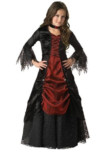 【ポイント最大29倍●お買い物マラソン限定!エントリー】Girls Gothic Vampira コスチューム ハロウィン 子ども コスプレ 衣装 仮装 こども イベント 子ども パーティ ハロウィーン 学芸会