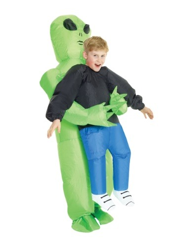 【ポイント最大29倍●お買い物マラソン限定!エントリー】Inflatable Alien Pick Me Up Kid コスチューム ハロウィン 子ども コスプレ 衣装 仮装 こども イベント 子ども パーティ ハロウィーン 学芸会