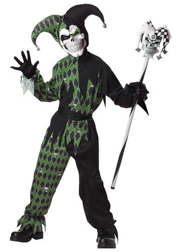 【ポイント最大29倍●お買い物マラソン限定!エントリー】チャイルド Green Scary Jester コスチューム ハロウィン 子ども コスプレ 衣装 仮装 こども イベント 子ども パーティ ハロウィーン 学芸会